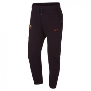 AS Roma Trainingsbroek NSW Tech Fleece – Bordeaux/Rood
